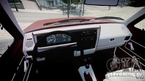Volkswagen Rabbit 1986 для GTA 4 вид сзади
