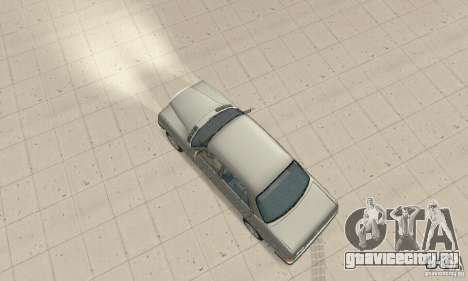 Mercedes-Benz 230 W123 для GTA San Andreas вид сзади слева