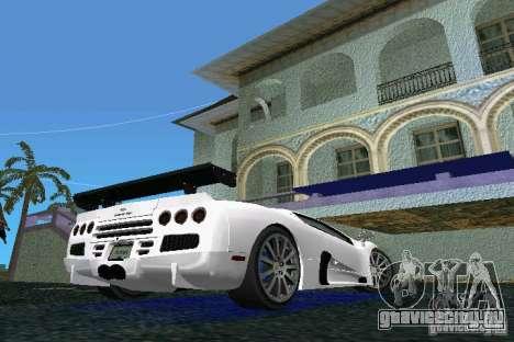 SSC Altimate Aero для GTA Vice City вид сзади слева