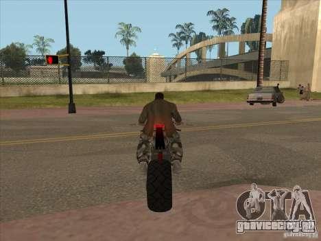 TLaD Double T Custom для GTA San Andreas вид сзади