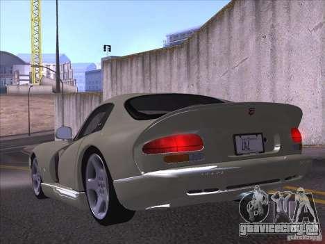 Dodge Viper для GTA San Andreas вид сбоку