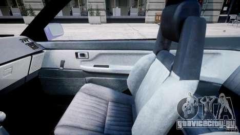 Toyota AE86 TRUENO Initial D для GTA 4 вид сзади