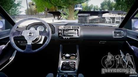 Honda Civic EK9 Tuning для GTA 4 вид справа