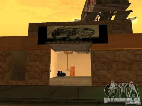 New PaynSpay: West Coast Customs для GTA San Andreas