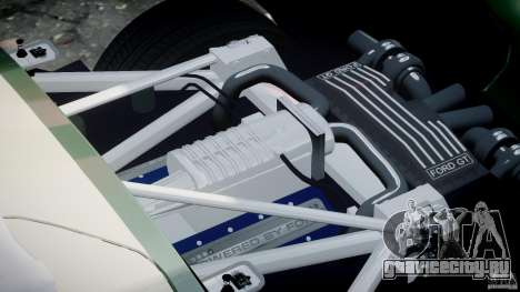 Ford GT1000 Hennessey Police 2006 [EPM][ELS] для GTA 4 вид сверху