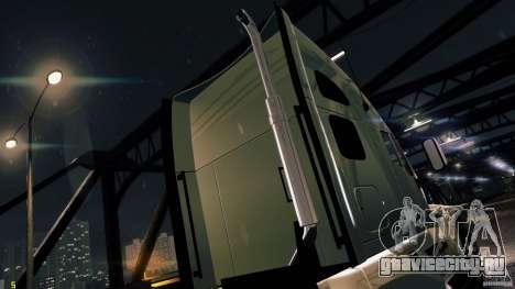 Kenworth T700 2010 Final для GTA 4 вид справа