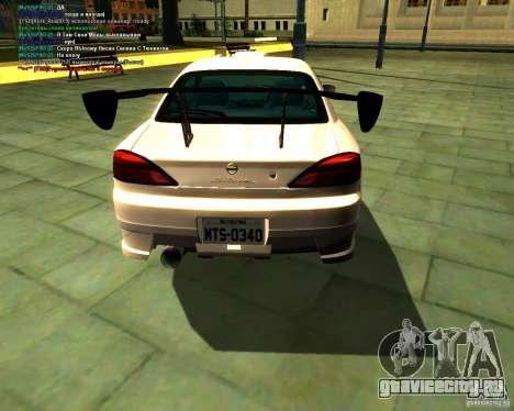 Nissan Silvia S15 для GTA San Andreas вид слева