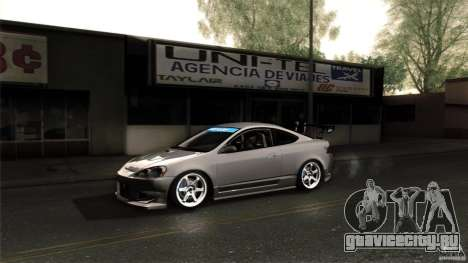 Acura RSX Spoon Sports для GTA San Andreas вид сбоку