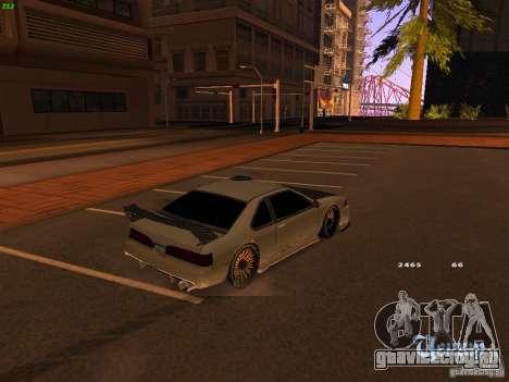 New Racing Style Fortune для GTA San Andreas вид сзади слева