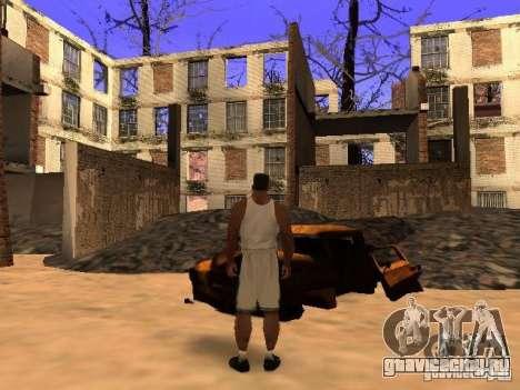 Чернобыль MOD v1 для GTA San Andreas одинадцатый скриншот