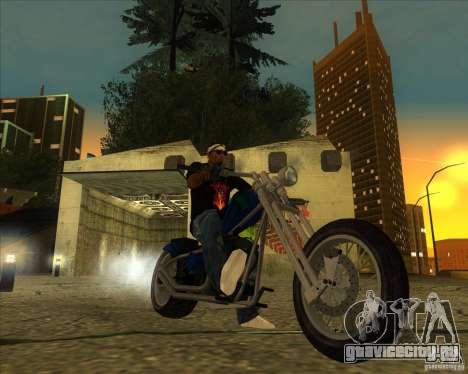Hexer bike для GTA San Andreas вид сзади слева
