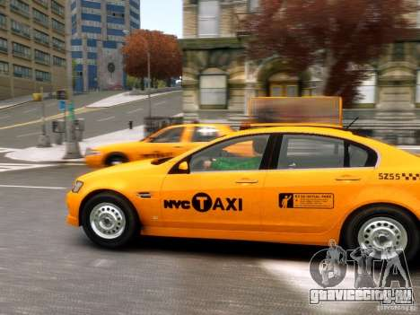 Holden NYC Taxi для GTA 4 вид слева