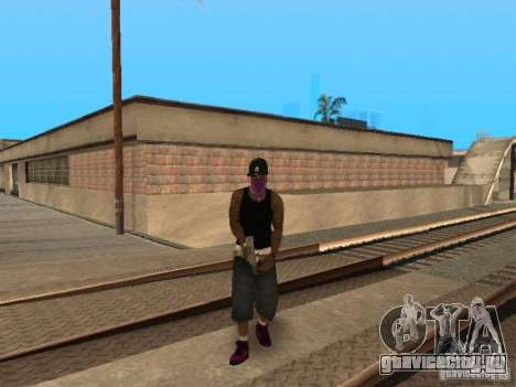 Pack Ballas Soldiaz Families V.2 для GTA San Andreas четвёртый скриншот