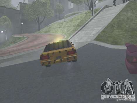 Зомби Такси для GTA San Andreas вид сзади