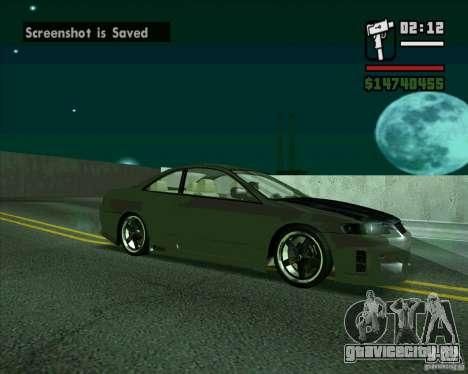 Honda Accord Tuning для GTA San Andreas