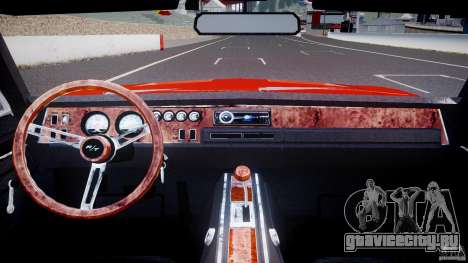 Dodge Charger General Lee 1969 для GTA 4 вид справа