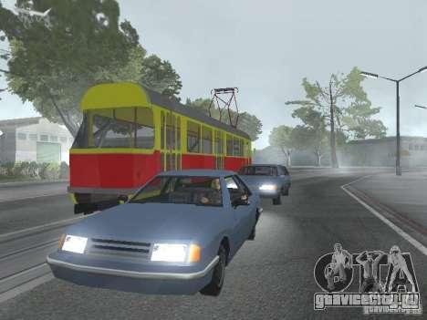 Татра Т3SU для GTA San Andreas вид сбоку