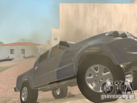 Toyota Hilux для GTA San Andreas вид справа