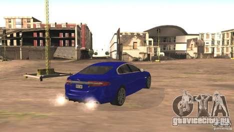 Jaguar XFR 2012 V1.0 для GTA San Andreas вид сбоку