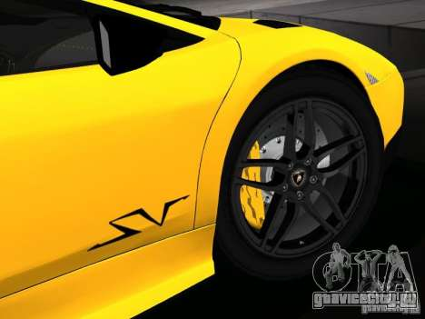 Lamborghini Murcielago LP670-4 sv для GTA San Andreas двигатель