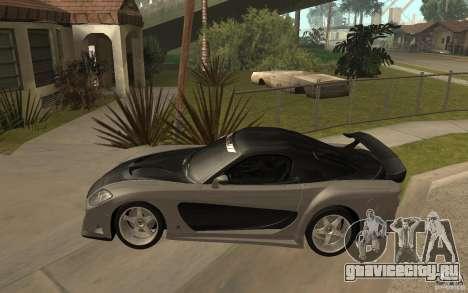 Mazda RX 7 VeilSide Fortune v.2.0 для GTA San Andreas вид слева