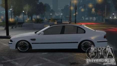 BMW M5 E39 BBC v1.0 для GTA 4 вид сбоку