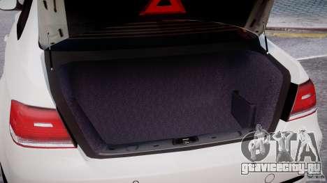 BMW M3 Hamann E92 для GTA 4 двигатель