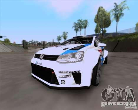 Volkswagen Polo WRC для GTA San Andreas вид сбоку