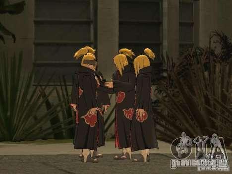 The Akatsuki gang для GTA San Andreas девятый скриншот