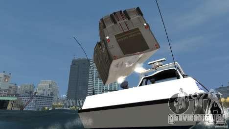 Benson boat для GTA 4 вид сбоку