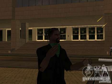 Замена всех скинов Grove Street Families для GTA San Andreas второй скриншот