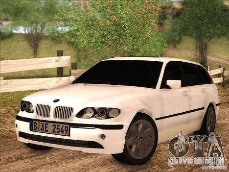 BMW M3 E46 Touring для GTA San Andreas вид слева