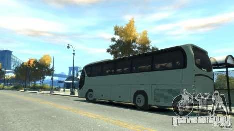 Neoplan Tourliner для GTA 4 вид слева