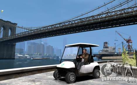 Caddy To IV для GTA 4