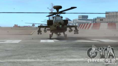 AH-64D Longbow Apache v1.0 для GTA 4 вид слева