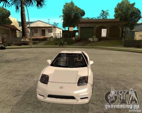 Acura/Honda NSX для GTA San Andreas вид сзади