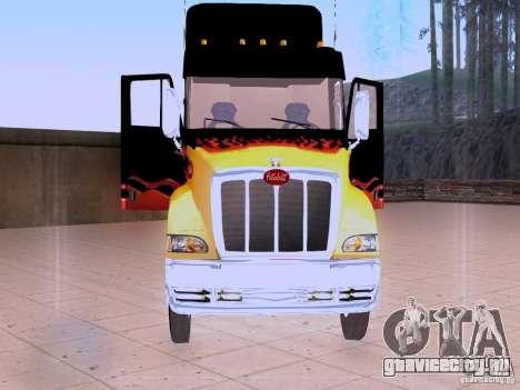 Peterbilt 387 для GTA San Andreas вид сбоку