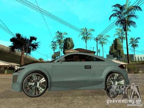 Audi TT 2007 Tuned для GTA San Andreas вид слева