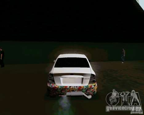 Subaru Legacy JDM для GTA San Andreas вид сзади слева