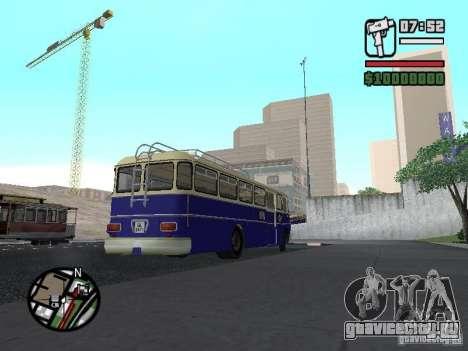 Ikarus 630 для GTA San Andreas вид сзади слева