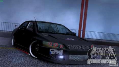 Mitsubishi Lancer Evolution 8 Drift для GTA San Andreas вид сверху
