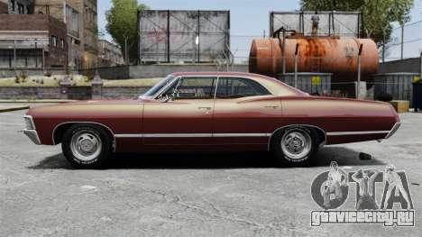 Chevrolet Impala 1967 для GTA 4 вид слева