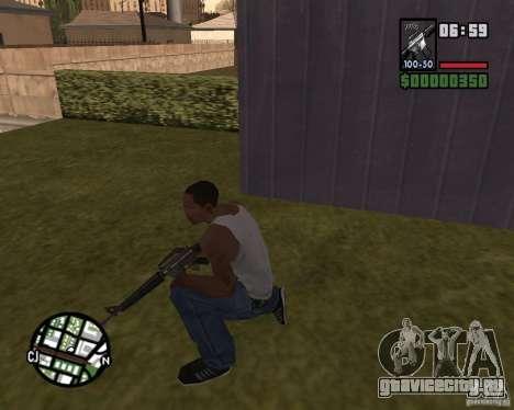 М16 для GTA San Andreas второй скриншот