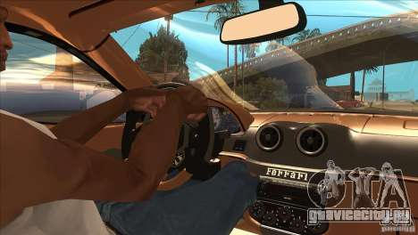 Ferrari 599 GTO 2010 V1.0 для GTA San Andreas вид сбоку