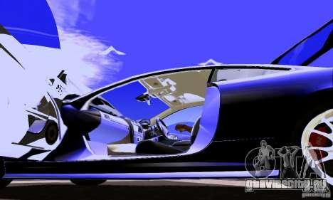 Jaguar XKRS для GTA San Andreas вид сбоку