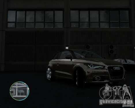 Audi A1 v.2.0 для GTA 4 вид слева