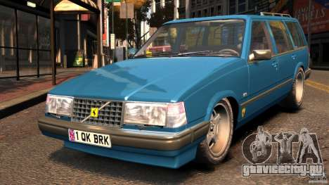 Volvo 945 Wentworth R Ridiculous Drift TurboBrick для GTA 4