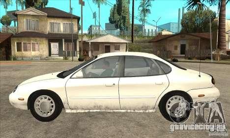 Ford Taurus 1996 для GTA San Andreas вид слева