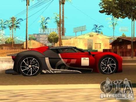 Citroen GT Gran Turismo для GTA San Andreas вид справа