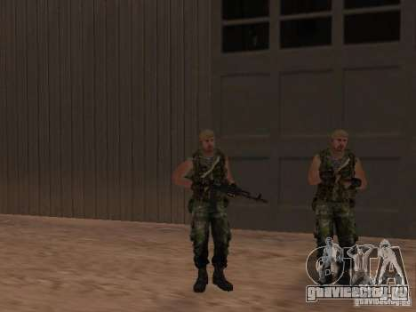 Российский Спецназовец для GTA San Andreas шестой скриншот
